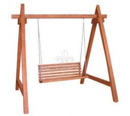Zahradní dřevěná Houpačka Teak