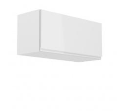 Kuchyňská horní skřínka - ASPEN G80K, bílý lesk