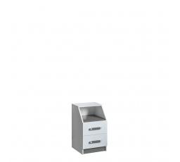 TRUFEL 15 - Kontejner  (Trafiko 15) - bílá/šedá (DO) (K150-Z)