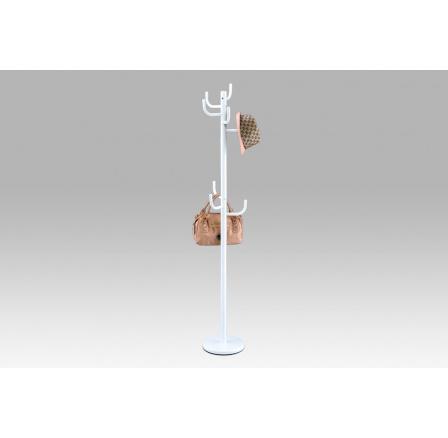 (80609-06 WT) Věšák, bílý kov