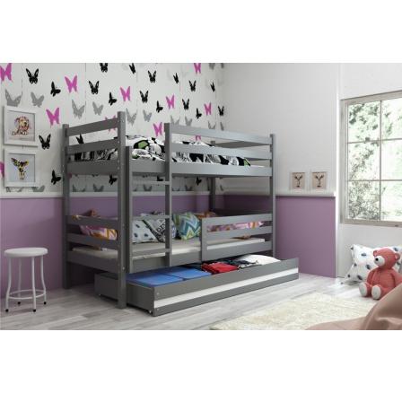 Patrová postel Norbert grafit