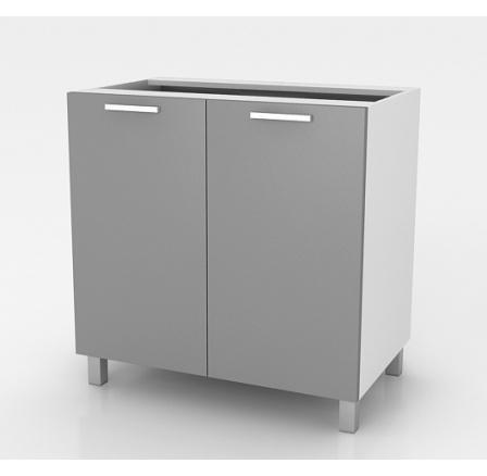 Kuchyňská skříňka Natanya D802D šedý lesk