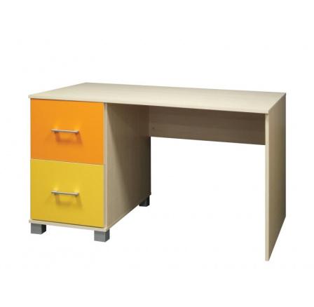BAJO - psací stůl - javor/oranžová/žlutá  ( P5T55F24 ) (MM) *** POSLEDNÍ KUS
