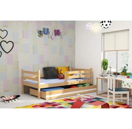 Dětská postel Norbert 90x200 borovice