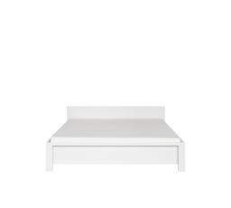 KASPIAN LOZ/160 bílá/bílá matná  bez roštu
