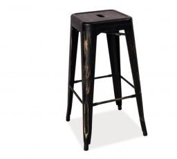 Barová židle LONG přetírané