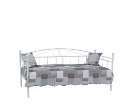 ANKARA  90  postel kov bílá (300) s roštem (ANKARAB2) (S) (K150-Z)