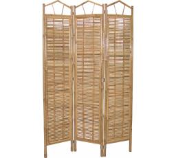 Bambusový paravan Axin natural   - vzhledové vady