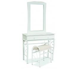 Toaletní stolek 1102, Bílý