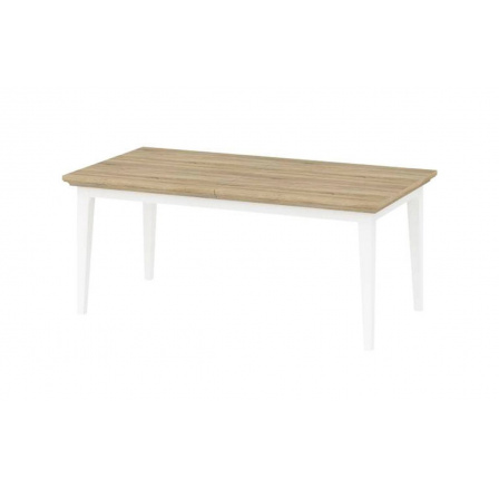 Jídelní stůl Provence 870 bílá/dub