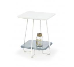 Konferenční stůl MANDY /bílá+šedá