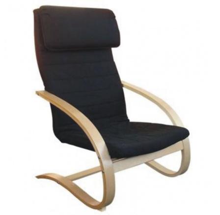 Relaxační křeslo černé