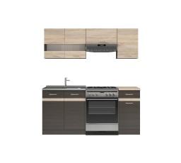 Kuchyně Junona Modul 180, wenge/dub sonoma - SUPERAKCE