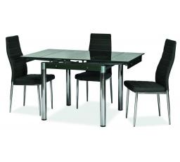 Jídelní stůl GD-082, černý