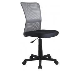 Dětská židle DINGO /černá+Šedá