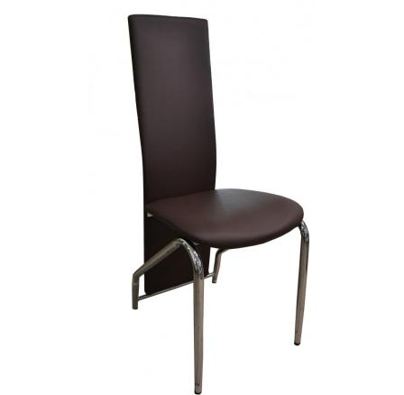 Jídelní židle F-131 hnědá