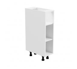 Kuchyňská dolní skřínka - ASPEN D20P, bílý lesk
