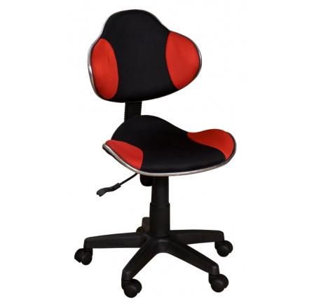 Židle QZY-G2  černo-červená