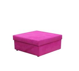 """NUBUK taburet 92x100 rozkládací 242 fialový (FI) - kolekce """"F"""" (Z)***DO VYPRODÁNÍ"""