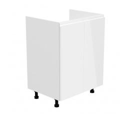 Kuchyňská dolní skřínka - ASPEN D60Z, bílý lesk