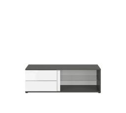 GRAPHIC (S343) RTV2S/120/C  šedý wolfram/bílý lesk (laminát)