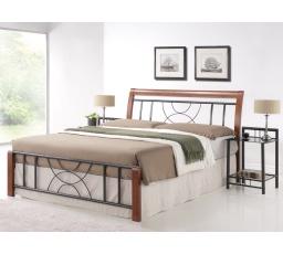 CORTINA postel 160x200 - antická třešeň  - s roštem (CORTINA2) (S) (K150-Z)