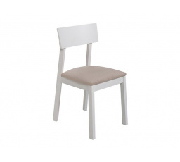 židle  NINA bílá teplá (TX098)/Milton new 03