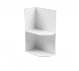 Kuchyňská dolní skřínka - ASPEN D25PZ, bílý lesk