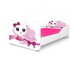 Dětská postel CUTE KITTY 160x80 cm