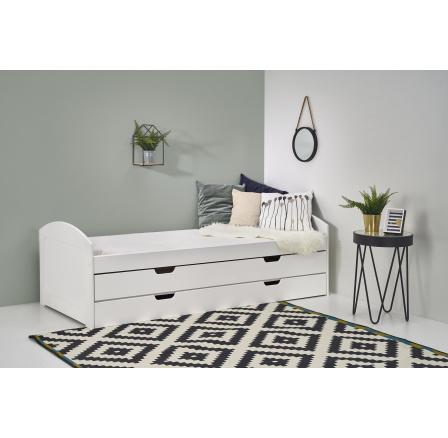 Dětská postel LAGUNA 2 Bílá, 200x90 cm