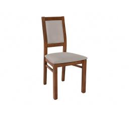 židle PAELA  dub april/Enjoy silver 20  (KADA,RUSO)
