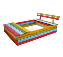 Zahradní Dětské Pískoviště - Duha Hnědá