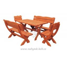 Dřevěná zahradní sestava Bawarie