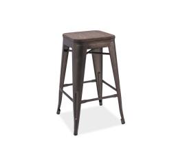 Barová židle LONG ořech