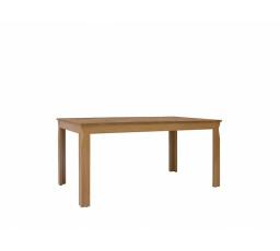 Jídelní stůl BERGEN STO/160 modřín sibiu zlatý