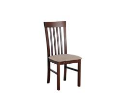 """MIA 2 jídelní židle (MILANO 2) dřevo ořech / béžová látka č. 4 (DM) - kolekce """"DRE"""" (Z)"""