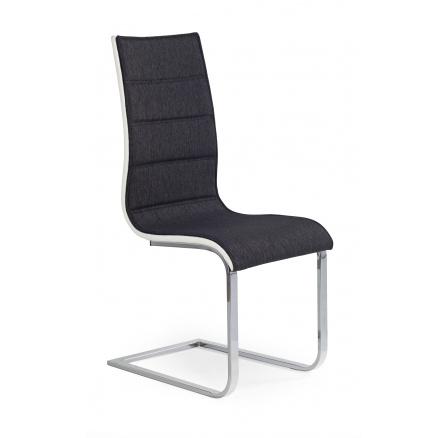 Jídelní židle K-105, Grafit / Bílá