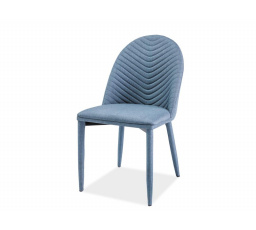 Jídelní židle LUCIL, modrá