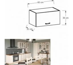 ROYAL  - horní závěsná skříňka  G60KN 60cm