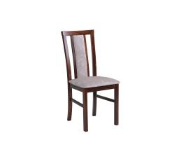 """MIA 7 (MILANO 7)- jídelní židle ořech/světle šedá 18A -kolekce """"DRE""""  (K150-Z)"""