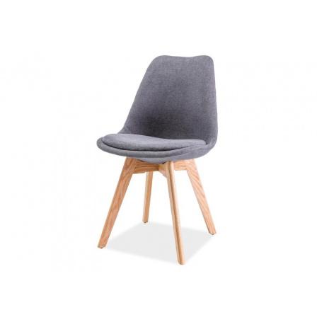 Jídelní židle DIOR, šedá/buk