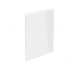 Dvířka na myčku s panelem 60 cm (57x59,6) - ASPEN, bílý lesk