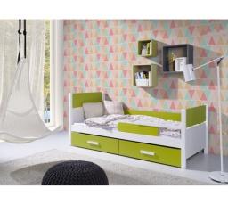 AURORA - dětská postel z masivu