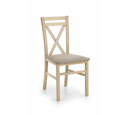 DARIUSZ krzesło dąb sonoma / tap: Inari 23 (1p=2szt)