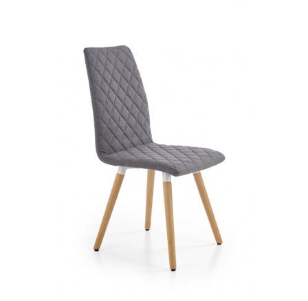 Jídelní židle K282 šedá