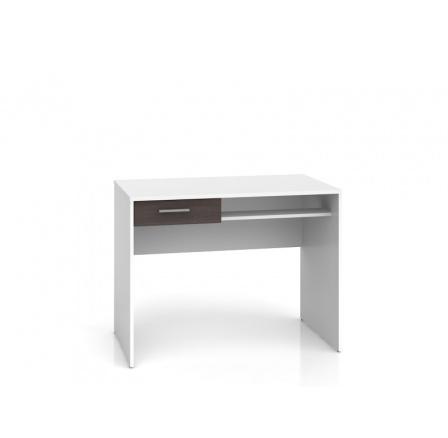 Psací stůl NEPO BIU1S , bílá wenge