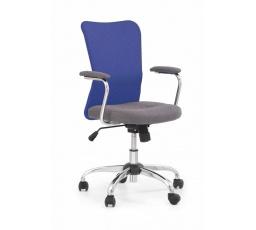 Dětská židle ANDY šedá+modrá