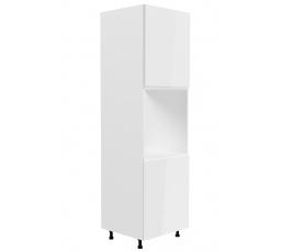 Kuchyňská dolní skřínka - ASPEN D60P (P/L), bílý lesk