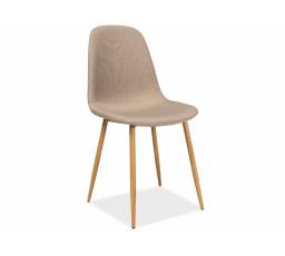 Jídelní židle FOX béžová