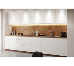 Kuchyňská linka 2,40 m - ASPEN, bílý lesk